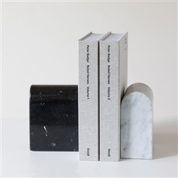 Marble Triumph Bookends