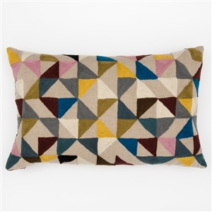 H-Harlequin Pillow
