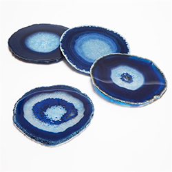 Coasters Blue Agate