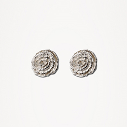 H Rosette Earrings