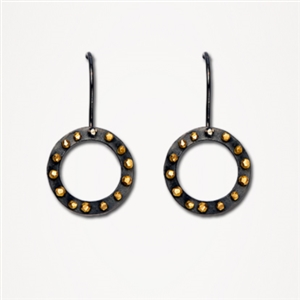 H Earrings Spangles Small Outline Hook