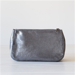 leather pouch sparkle smoke