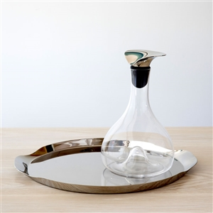 Wine Carafe and Tray