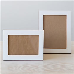 Wood Frame White