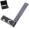 "6"" High Precision DOUBLE SQUARE 4R Steel Blade Machinist Engineer Carpenter"