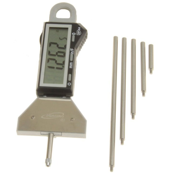 Digital Indicators With Remote Read : Quot electronic digital indicator depth gauge