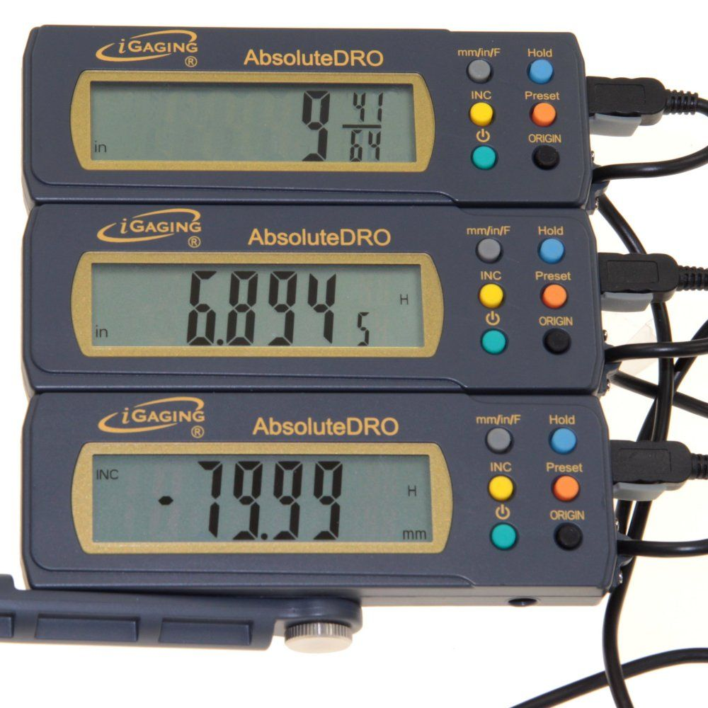 24 Quot Absolute Digital Readout Dro Stainless Steel S