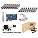 Geovision DVR Card 16 Camera Kit