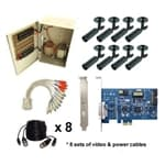 Geovision DVR Card 8 Camera Kit