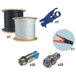 CCTV Cable Installation Kit