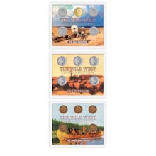 All 3 Sets:  Wild West Coin Collection