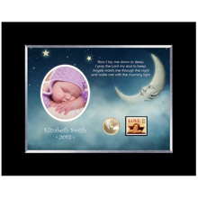 Now I Lay Me Down Personalized Photo Frame