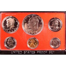 1974	 U.S. Mint Proof Set