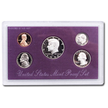 1990	 U.S. Mint Proof Set