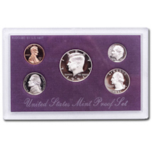 1991	 U.S. Mint Proof Set