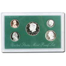 1995	 U.S. Mint Proof Set