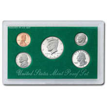 1998	 U.S. Mint Proof Set