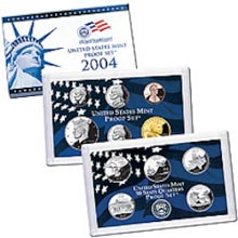2004	 U.S. Mint Proof Set