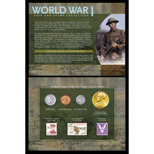 World War I Coin & Stamp Collection