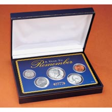 Year To Remember Coin Box Set (1965-present)