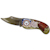 Armed Forces Colorized Quarter Pocket Knife - Navy