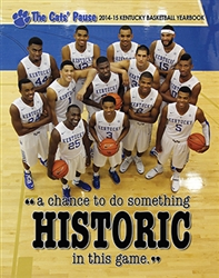 2014-15 Kentucky Basketball Yearbook