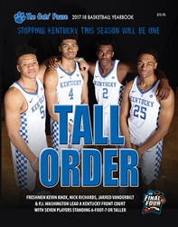 17-18 Kentucky Basketball Yearbook