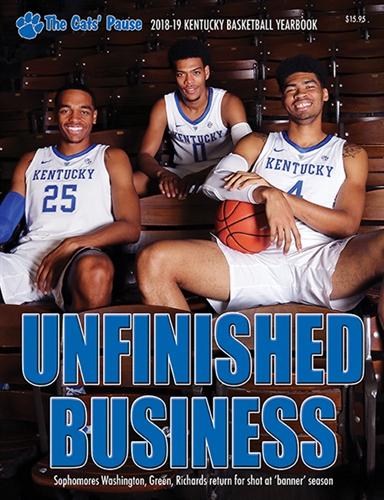 2018 19 Kentucky Basketball Yearbook
