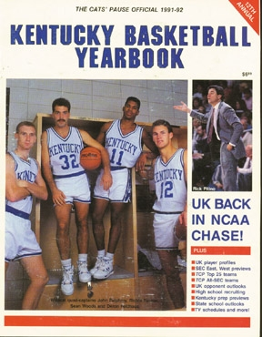 1991 92 Basketball Yearbook