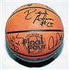 1997 NCAA Autographed Leather Basketball