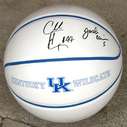 Hayes, Carrier Autographed Full Size Basketball