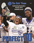 Perfect 10 UK Football Celebration book