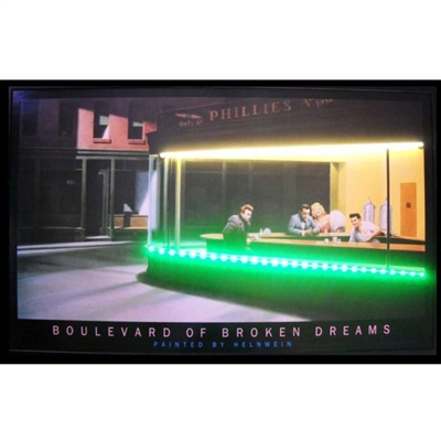 BLVD OF BROKEN DREAMS NEON/LED