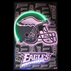 EAGLES HELMET NEON/LED