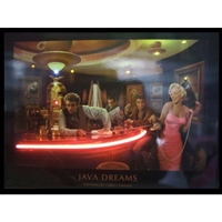 JAVA DREAMS NEON/LED POSTER