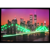 NEW YORK SKYLINE NEON/LED