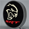 15 INCH BACKLIT LED LIGHTED SIGN DODGE HELLCAT SRT