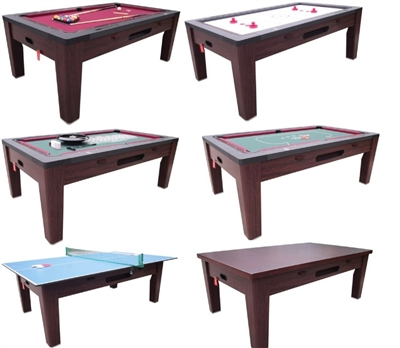 6 IN 1 Game Table