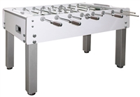 Garlando G-500 Pure-White Foosball Table