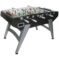 Garlando G-5000 Black & Silver Foosball Table