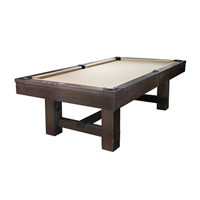 Reno 8FT Weathered Dark Chestnut Pool Table