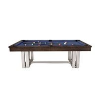 The Trillium 8FT Cappuccino Pool Table
