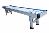 "Extera Outdoor Shuffleboard Table w/20"" Wide Playfield"