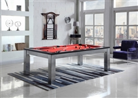 7' Monaco Pool Table with Dining Top