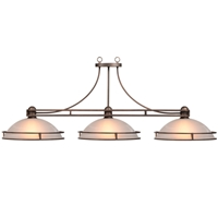 Classic 3-light Billiard Pendant