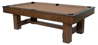 Winchester 8FT Rustic Pool Table