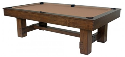 8' Winchester Rustic Pool Table
