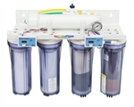 SpectraPure Line Pressure Reverse Osmosis/Deionization Five-Stage MaxCap Manual Flush 90 GPD System