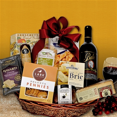 Alexander the Great Wine Gift Basket