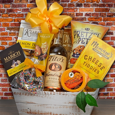 Tito's Vodka Gift Basket